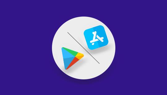 android vs ios copy