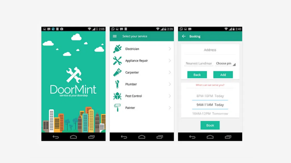 Doormint- The Best Laundry Applications Trending Around The World