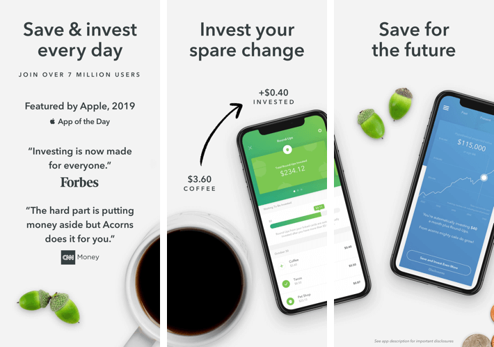Acorns- How iOS App Make Money