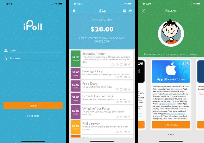 Ipoll- How iOS App Make Money