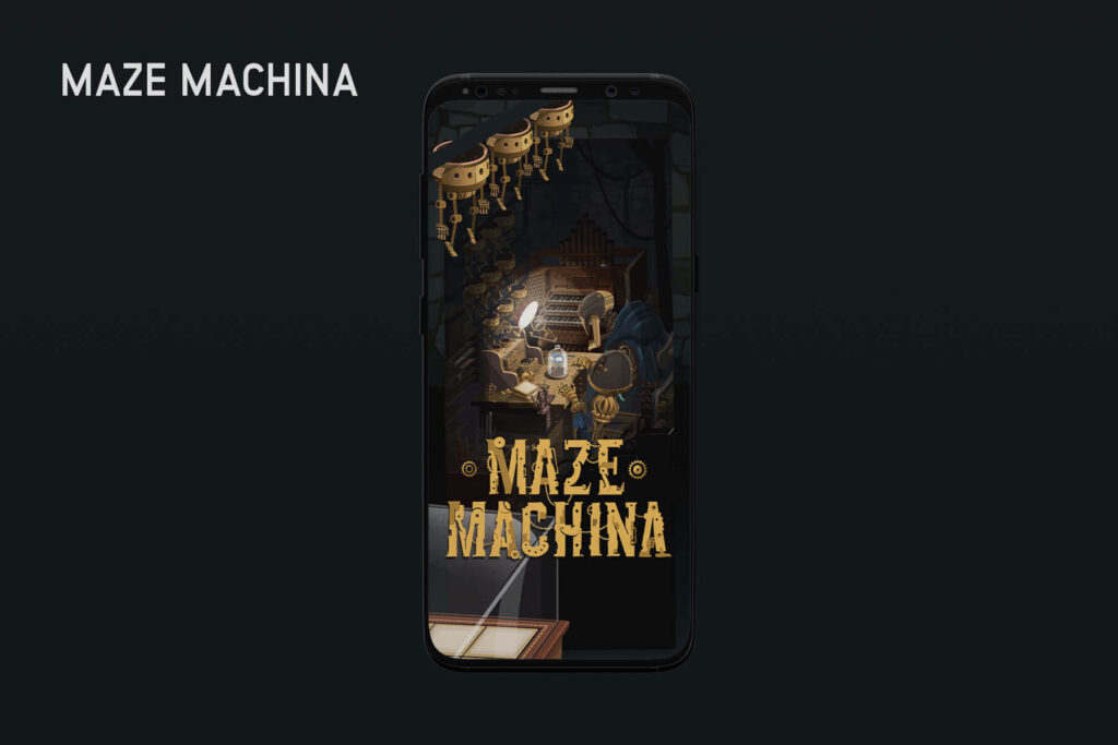 Maze Machina- Top 13 Best iPhone Games of 2020