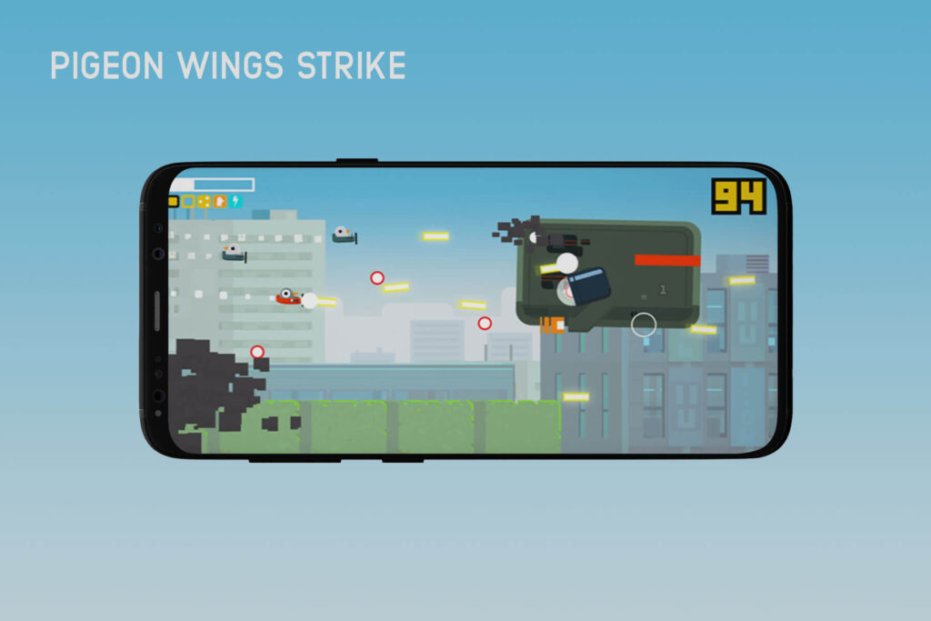 Pigeon Wings Strike- Top 13 Best iPhone Games of 2020