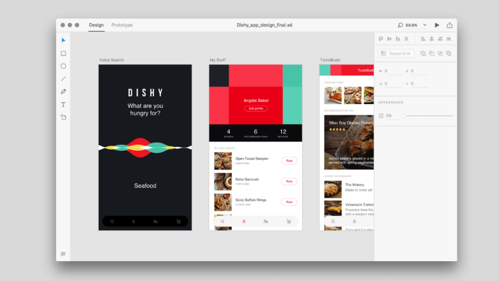 Adobe XD- Best Mobile App UI Design Tools