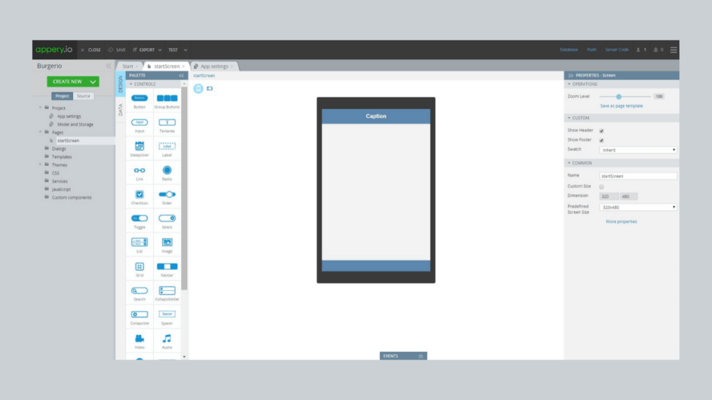 Appery.io- 10 Best Mobile App Development Tools