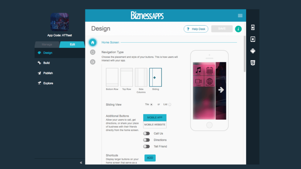 Bizness Apps- 10 Best Mobile App Development Tools