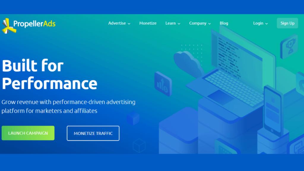 Propeller Ads- Best Mobile Ad Networks