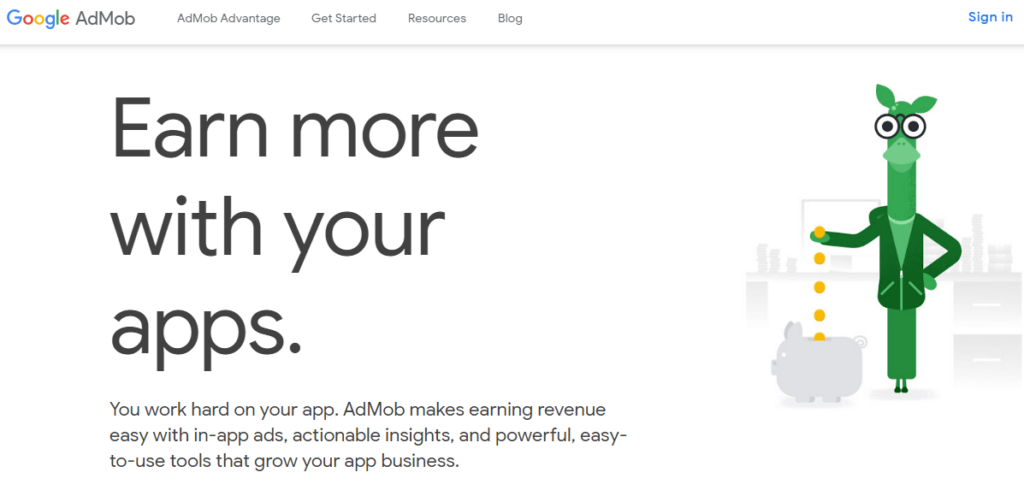 Admob- Best Mobile Ad Networks