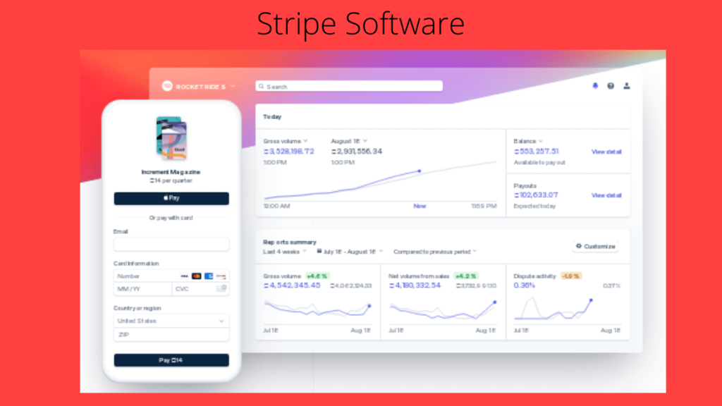 Stripe Software- 10 Best Pharmacy Software For Improved Medical Practices