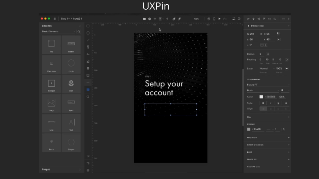 UXPin- Best Mobile App UI Design Tools