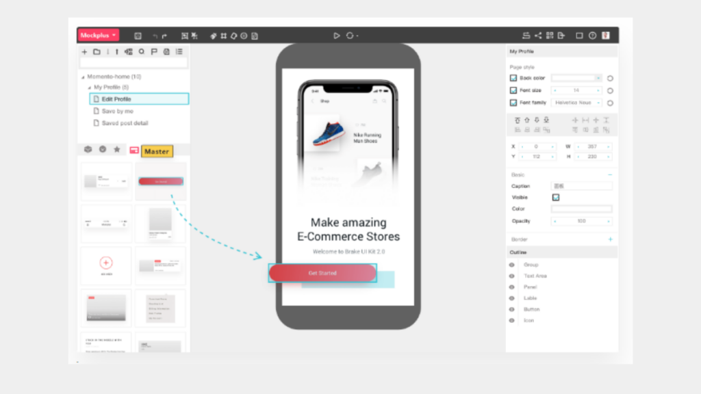 mockplus- Best Free Wireframe Tools For Mobile App