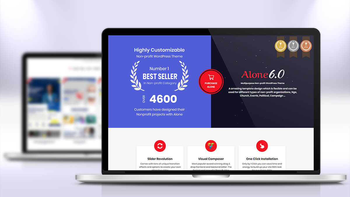 Alone- Best WordPress Theme For Charity And NGO Websites