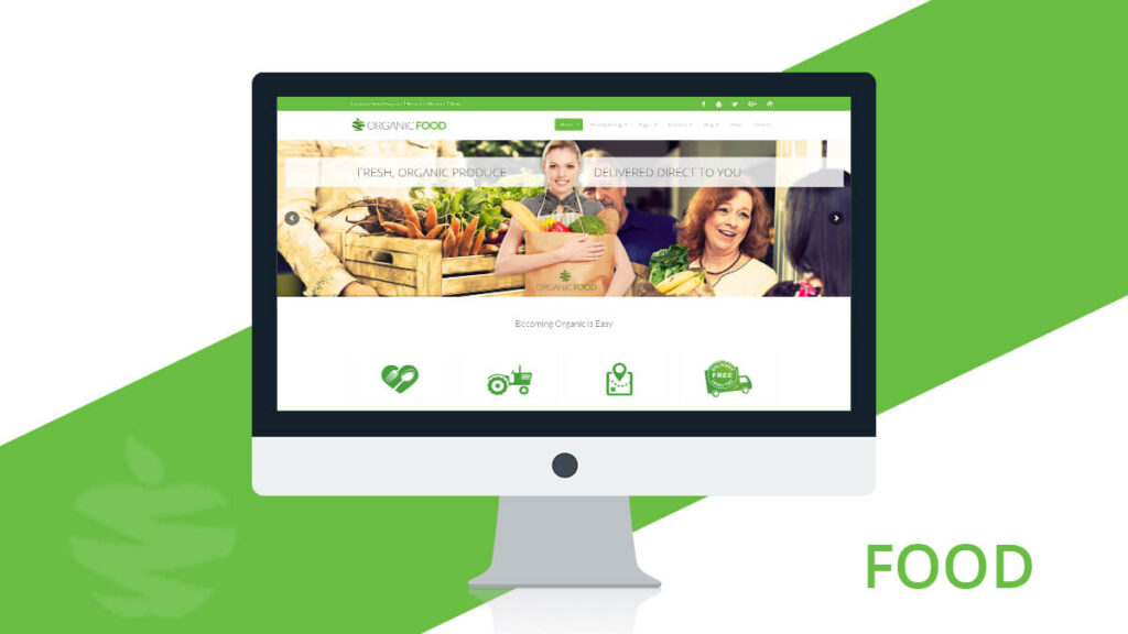 Organic Food- Best WordPress Theme for Health and Nutrition