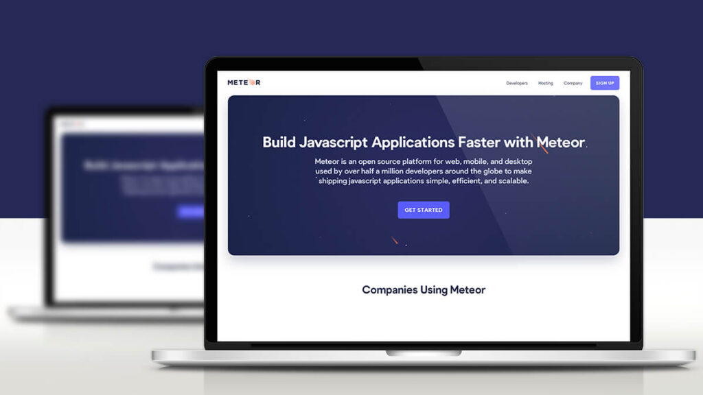 Meteor- Best Frontend Development Tools