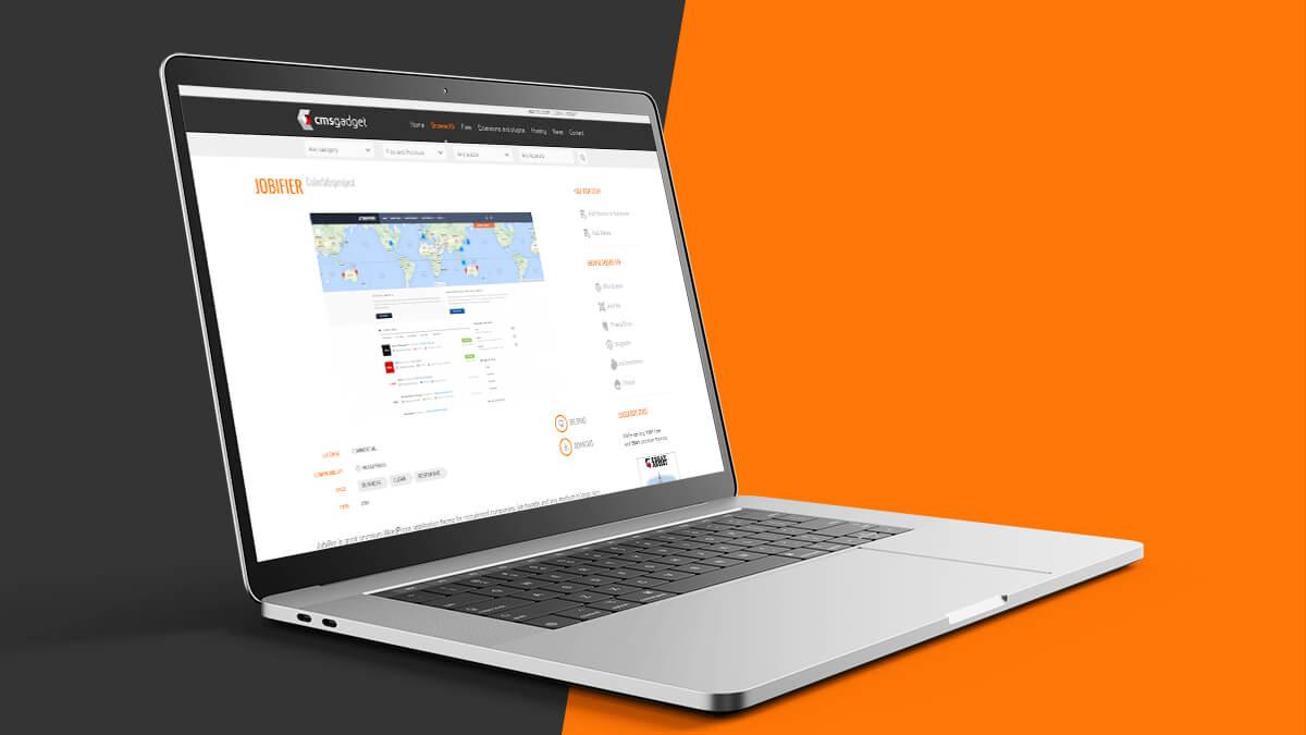 Jobifier- Job Portal Website Design Ideas For WordPress CMS