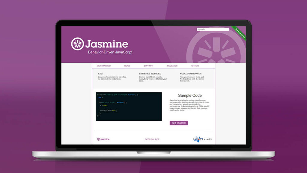 Jasmine- Best Frontend Development Tools