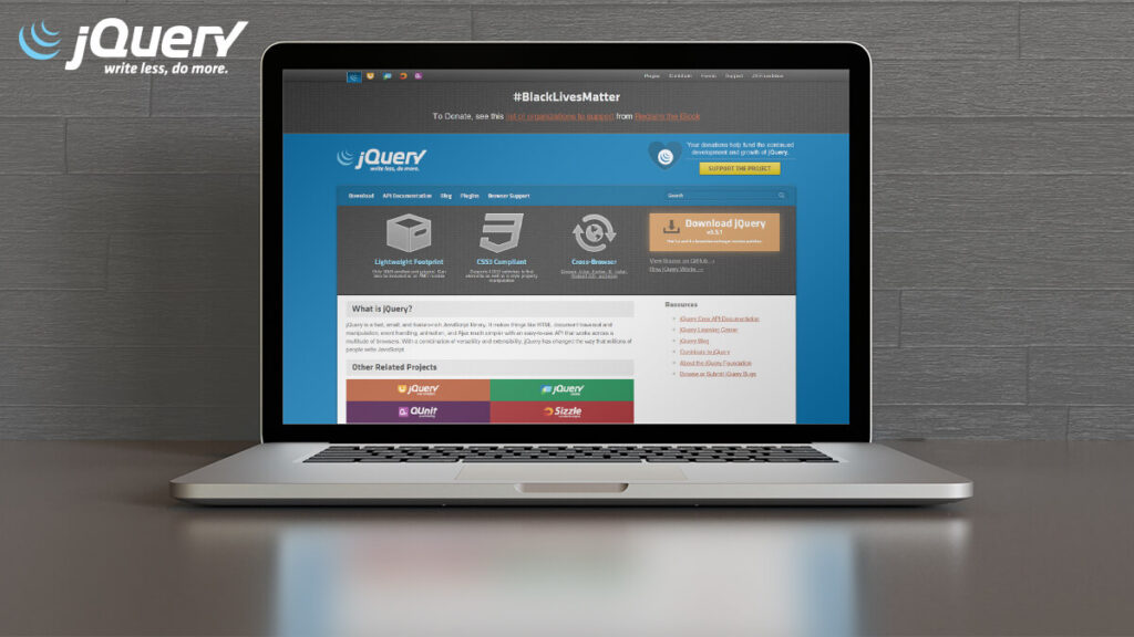 Jquery- Best Frontend Development Tools