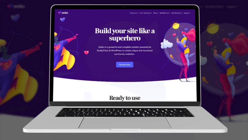 Seeko- Best Word Press Theme For Dating Website