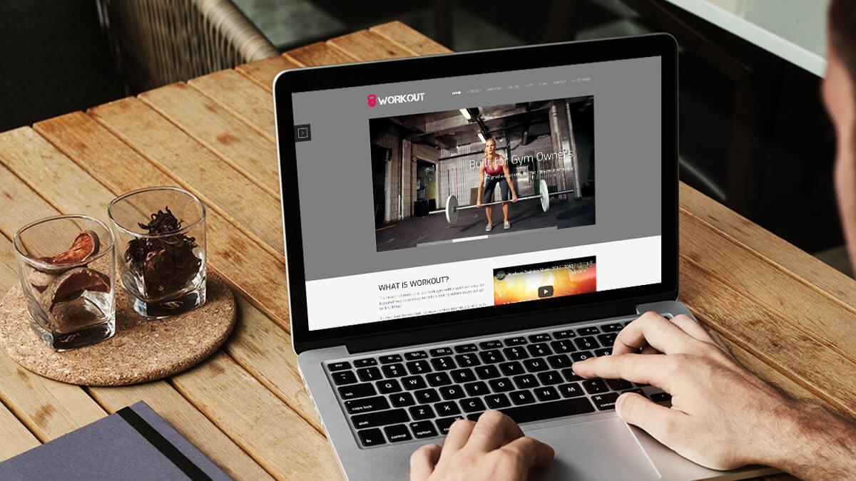 Workout- Job Portal Website Design Ideas For WordPress CMS