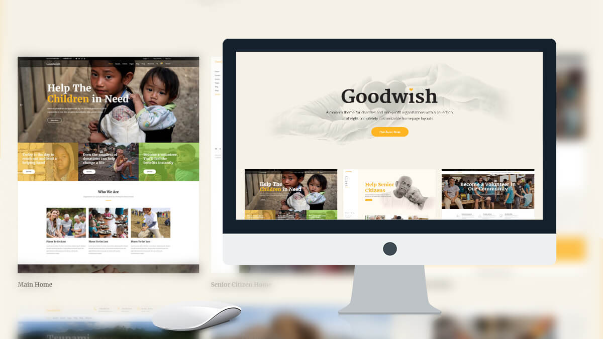 Good Wish- Best WordPress Theme For Charity And NGO Websites