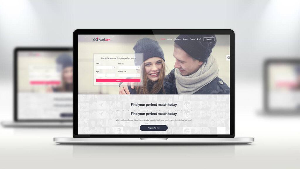 Aardvark- Best Word Press Theme For Dating Website