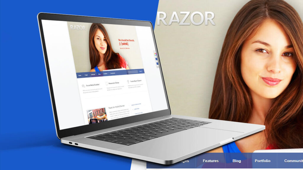 Razor- Best Word Press Theme For Dating Website