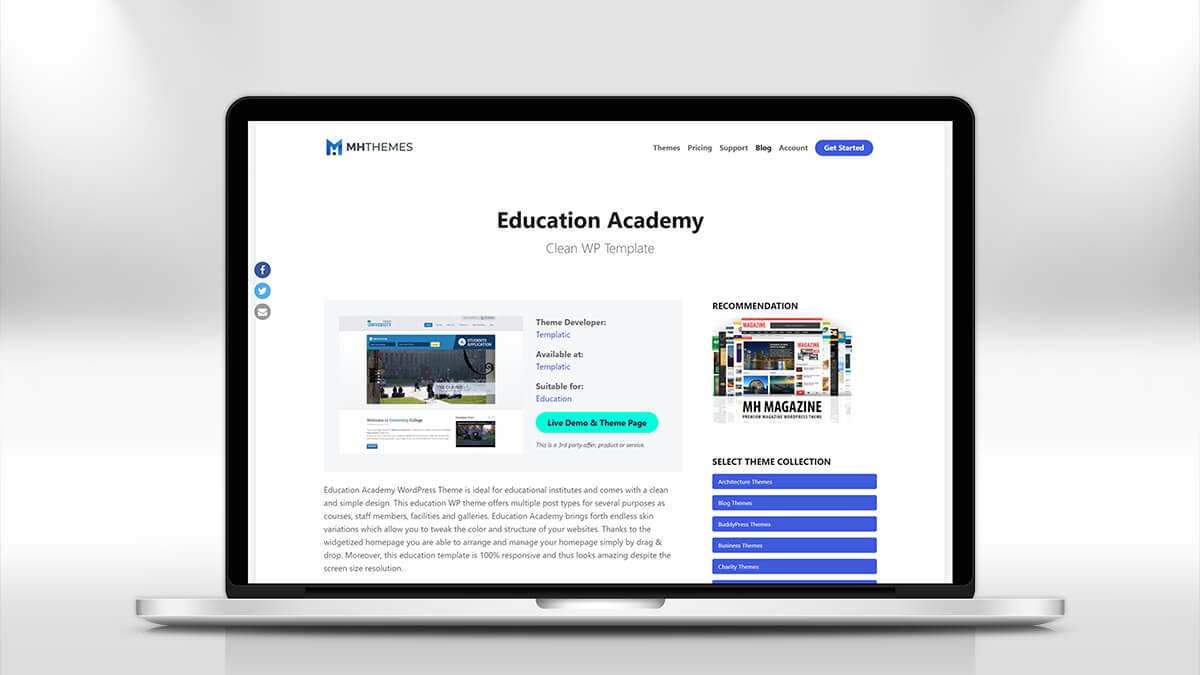 Education Academy- How Can I Find A WordPress Theme For My Education Website?