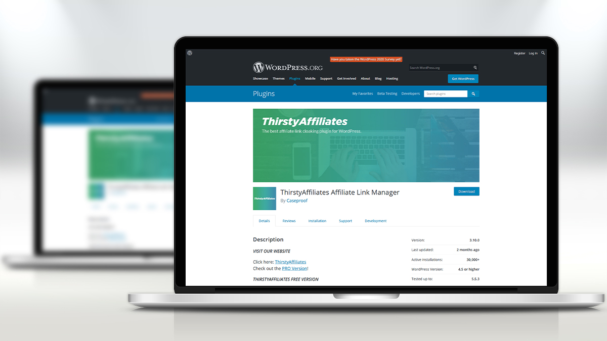 Thirsty- 14 Most Suitable WordPress Plugins For Digital Business Websites