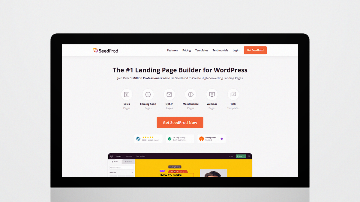 Seedprod- 14 Most Suitable WordPress Plugins For Digital Business Websites