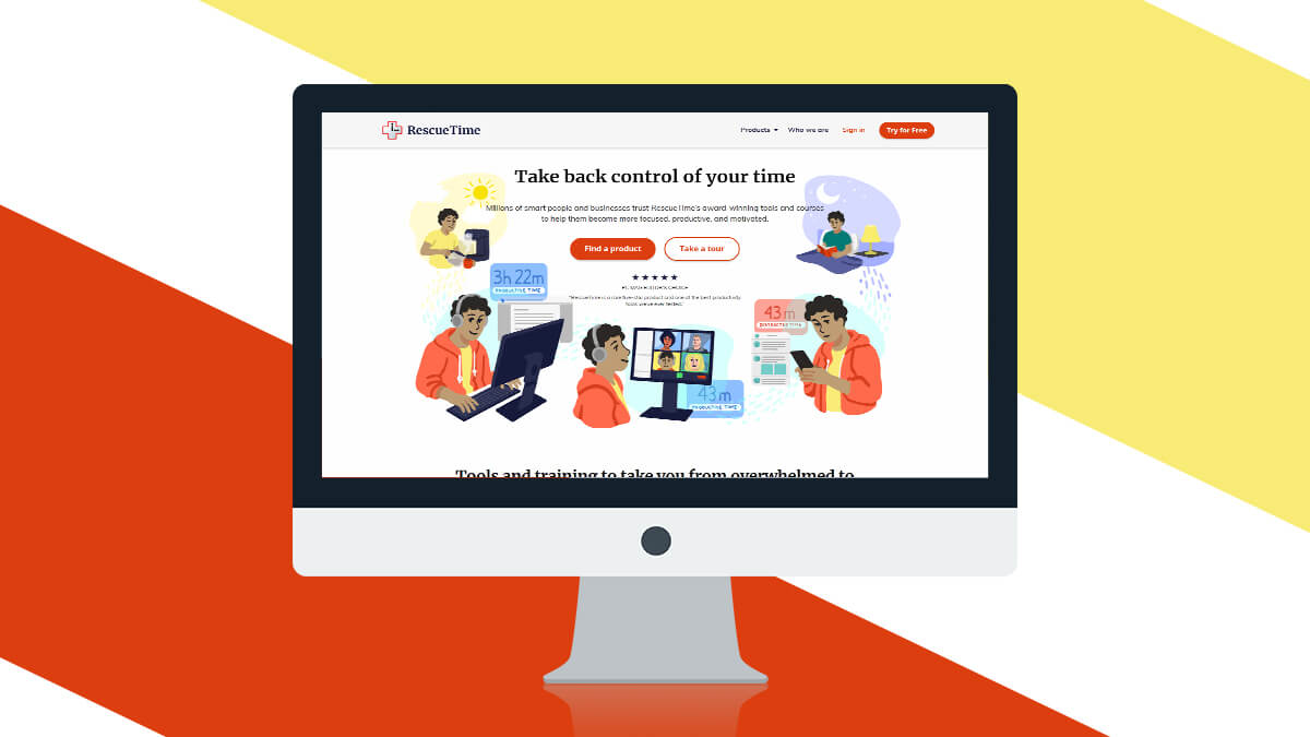 RescueTime- Best Productivity Tools For Web Developers