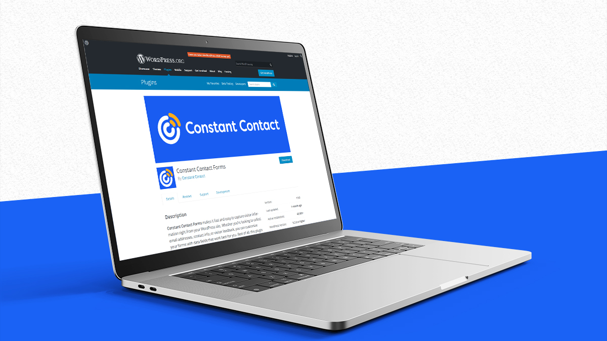 Constant Contact Form- 14 Most Suitable WordPress Plugins For Digital Business Websites